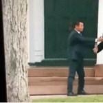 Trump ezt a kézfogást is csúnyán benézte – videó