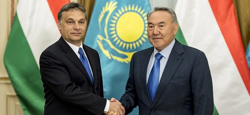 Kazah-magyar két jó barát