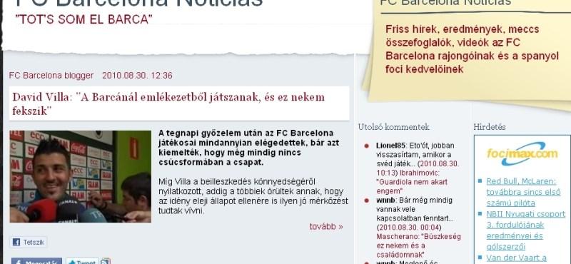 Ibrahimovic szerint a Barcelona edzője félt tőle