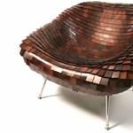 Egy igazi különlegesség: zsindelyes fotel