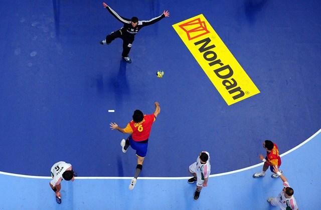 2011. január 25. - a spanyol csapat ellen vívott mérkőzés a világbajnokságon