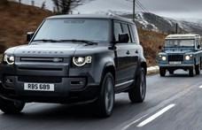 Hivatalos: 525 lóerővel itt a V8-as új Land Rover Defender