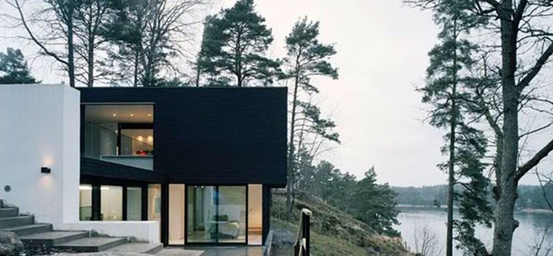 Luxus villa a hegyekben - letisztult és természetes