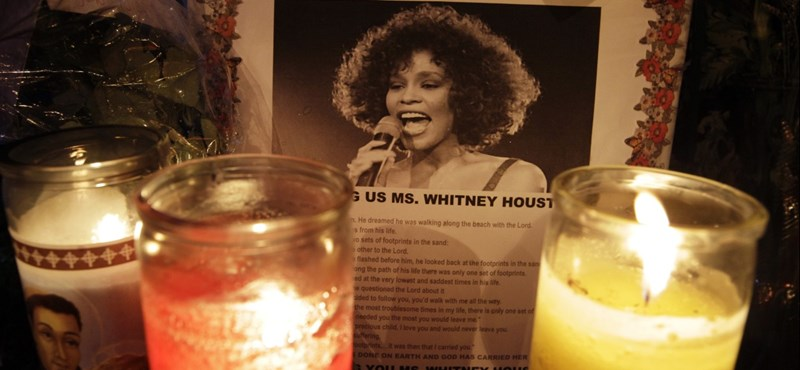Galéria: eltemették Whitney Houstont