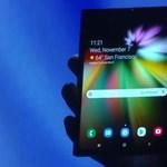 Pár nap és közelebbről is megmutatja összehajtható telefonját a Samsung