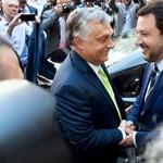 Orbán–Salvini-találkozó: Macron-ellenes tengelyről cikkeznek az olasz lapok