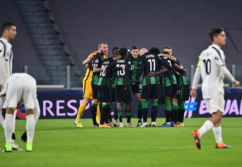Juventus–Ferencváros 1-1