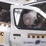 Sokkoló: nulla csillagot kapott egy Nissan a törésteszten – videó