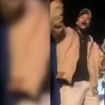 Kengurut rángatott a színpadon egy komikus, kapott is tőle egy pofont – videó