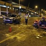 Fotók érkeztek a Váci úti súlyos balesetről