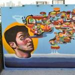 Street art percek: Ever, az argentín utcaművész Miamiban festett