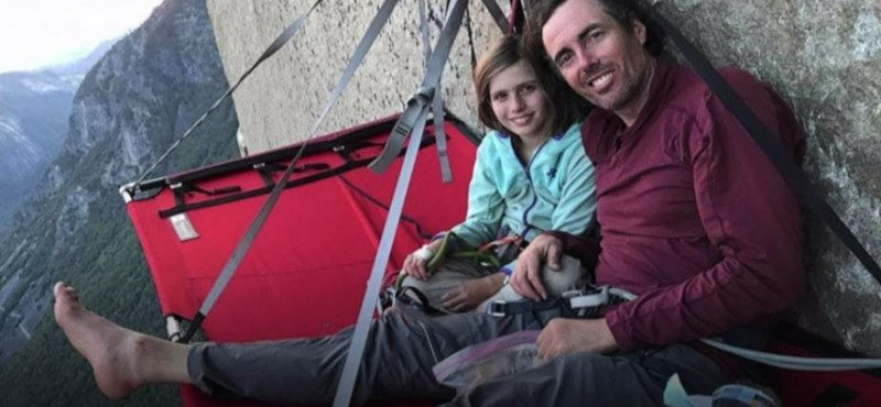 Tízéves lány hódította meg a sziklacsúcsot, ami az Oscar-díjas filmben vált híressé