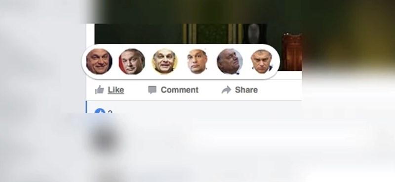 Ön is bekapcsolhatja: Orbánosították a Facebook új lájkolós gombjait