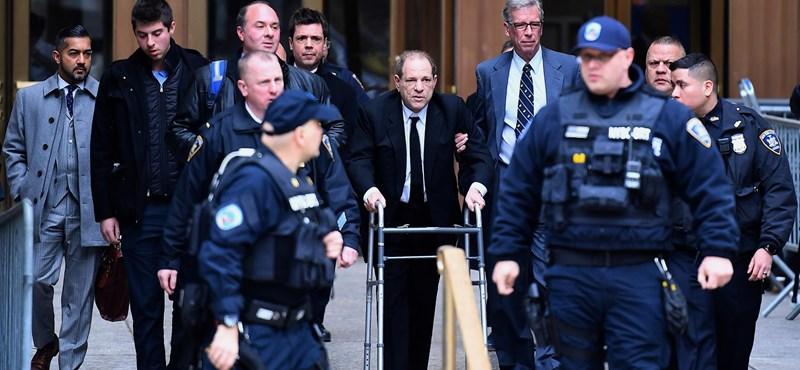 Élete végéig börtönbe kerülhet Harvey Weinstein