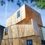Egy izgalmas előre gyártott ház - Elforgatott dobozok