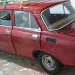 Balul elsült időkapszula: 25 évig állt garázsban ez a szegény Moszkvics