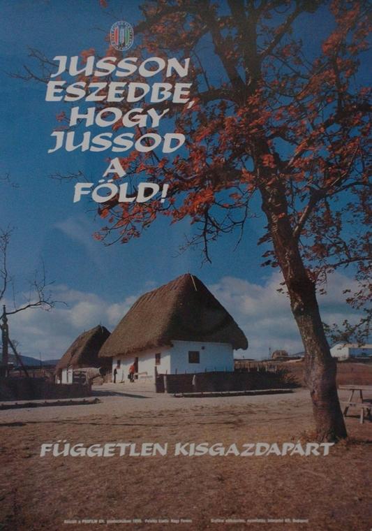 választás 1990, választási plakát, szabad választás 1990-ben