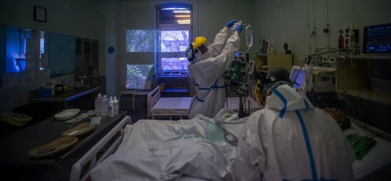 576 új koronavírus-fertőzöttet találtak, 1 ember meghalt