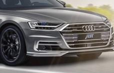 Sportosra hangolták a legújabb Audi A8-ast