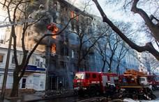 Ötre nőtt az odesszai tűzeset halálos áldozatainak száma