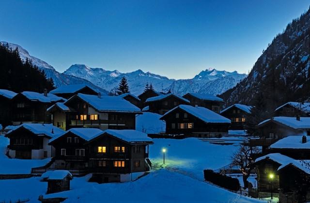 Svájc télen