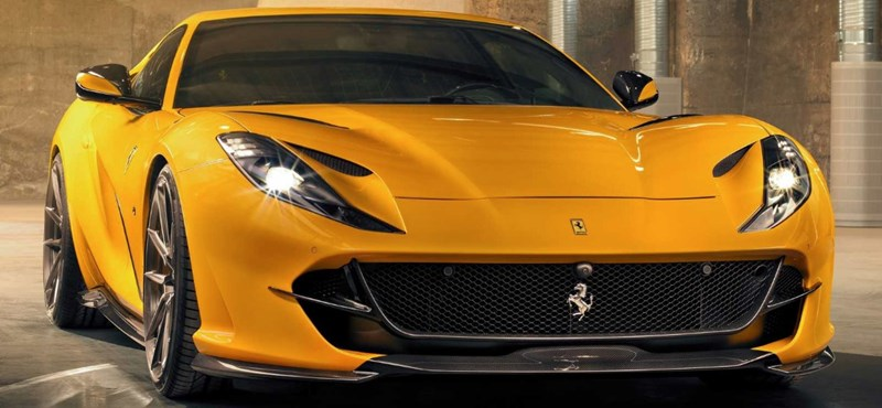 Szinte hihetetlen, de íme egy ízléses Ferrari tuning