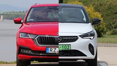 Családi dízel kombi a kis villanyautó ellen: Skoda Octavia vs. Opel Corsa-e