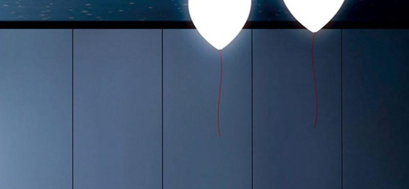 Játékos világítás: lufilámpát a szobába!
