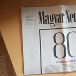 Szombaton még egyszer megjelenik a Magyar Nemzet