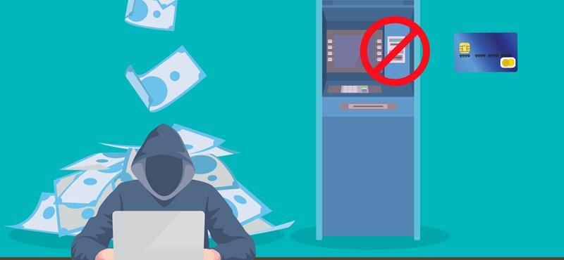Vészjelzést adtak le a bankoknak: valakik az ATM-ek kifosztására készülnek világszerte