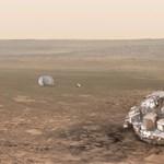 Néma a Marsra érkezett Schiaparelli