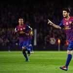 Megint elhányta magát a pályán Messi