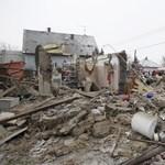 Fotó: felrobbant egy ház Pusztaszabolcson
