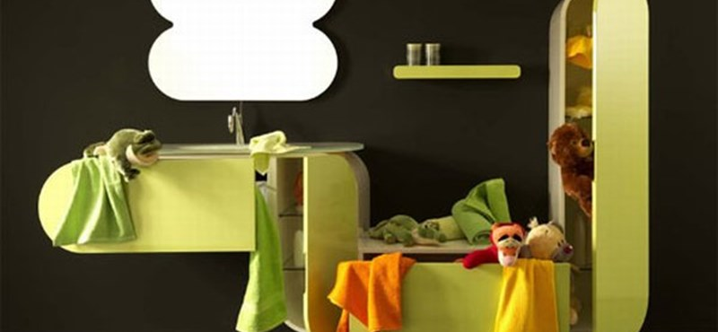 Finom vonalak a fürdőben – luxus fürdőszoba olasz módra
