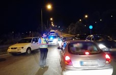125 embert igazoltattak a rendőrök egy angyalföldi illegális gyorsulási versenyen