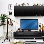 Az IKEA internetes, LED-tévés, Blu-ray lejátszós bútorral hódítana