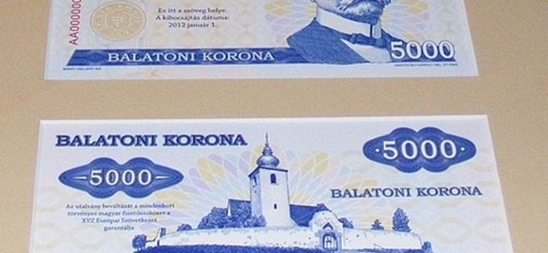 Jön az újabb helyi pénz, a Balatoni korona