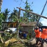 Brutális pusztítást végzett a tájfun a Fülöp-szigeteken
