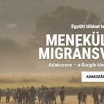 1+1: megduplázza a menekülteknek küldött adományokat a Google
