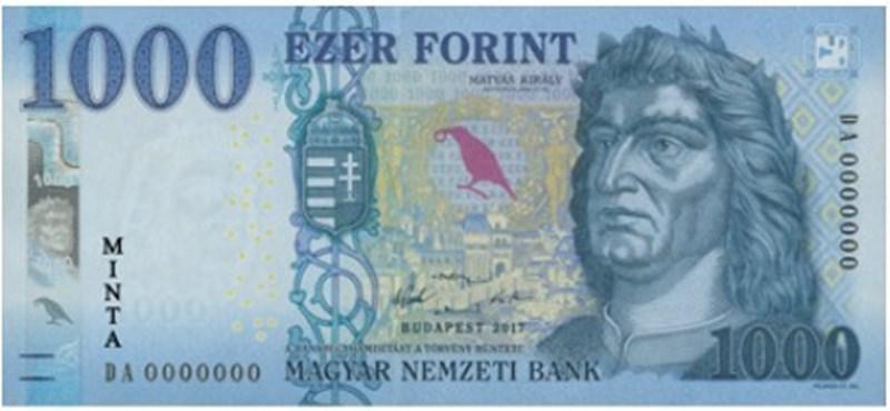 Új bankjegy kerül forgalomba a héten