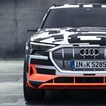 Bemutatták az első tisztán elektromos Audit, de egyelőre csak álruhában
