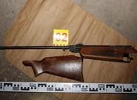 Nagyapjuk légfegyverével lőtte meg testvérét egy 15 éves lány