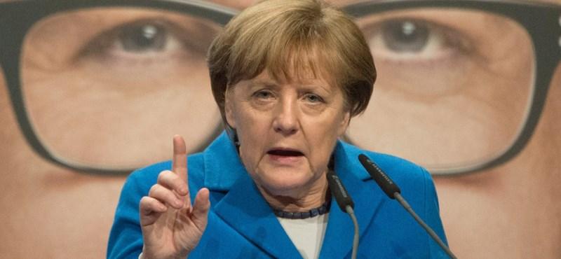 Nagy pofont kaphat ma Merkel a németektől