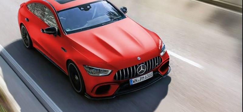 820 lóerőssé programozták a Mercedes-AMG GT63 S-t