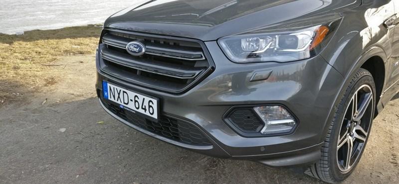 Plasztikai sebészet – teszteltük az új Ford Kugát