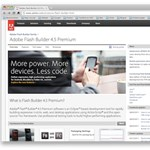 Már iPhone-ra, iPadre és BlackBerry PlayBookra is fejleszthetünk a Flash Builderrel