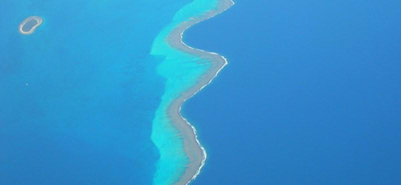 Egzotikus látvány: a világ legnagyobb lagúnája (videók)