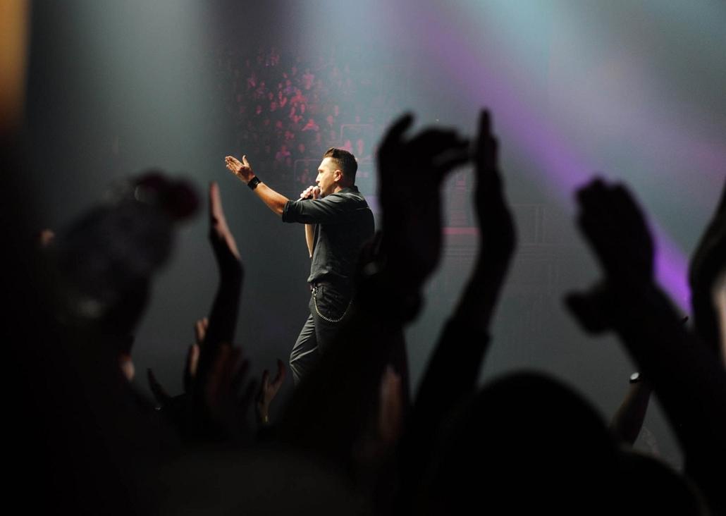Ákos lemezbemutatója az Arénában - Ákos koncert