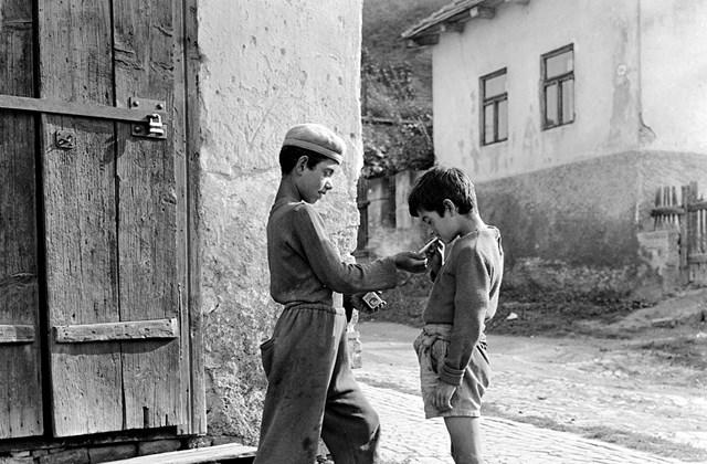 e! 1960. Szlovákia, Fülek ulica Podhradska (Várfelső utca). Minden múlt a múltam kiállítás MNG