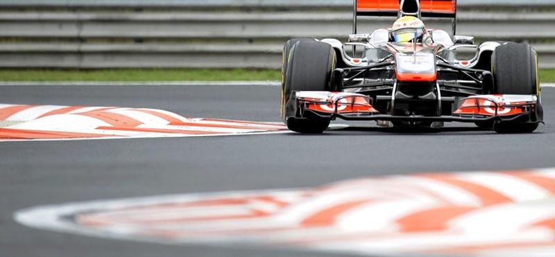 Hamilton nyerte a második szabadedzést a Hungaroringen